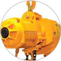 Polipasto-electrico-de-cadena-con-gancho-de-suspension-Marca-TX